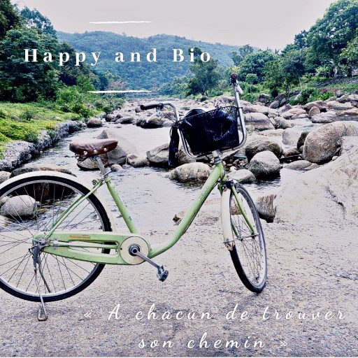 Happy and Bio bicyclette 1